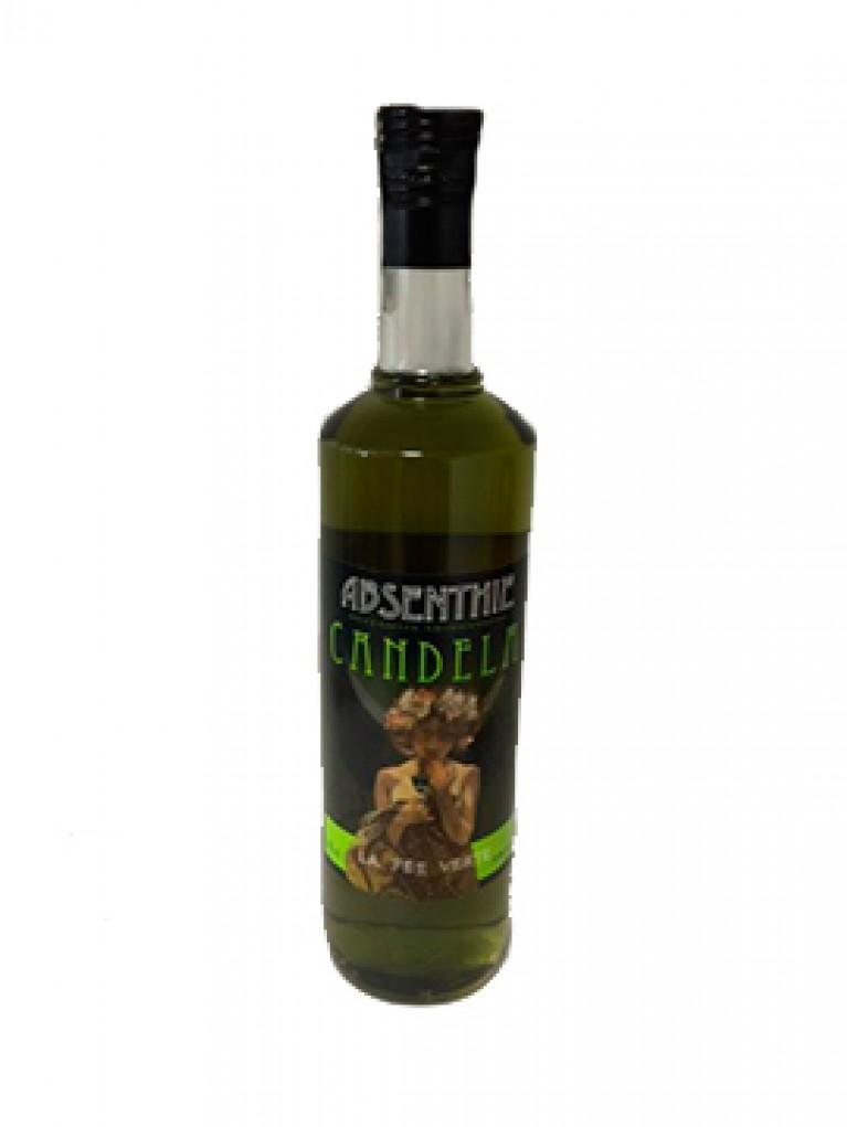 Licor Absenta Candela Verde 70 %