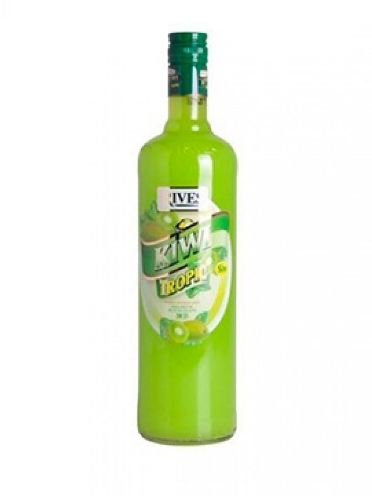Licor Kiwi Rives Sin Alcohol