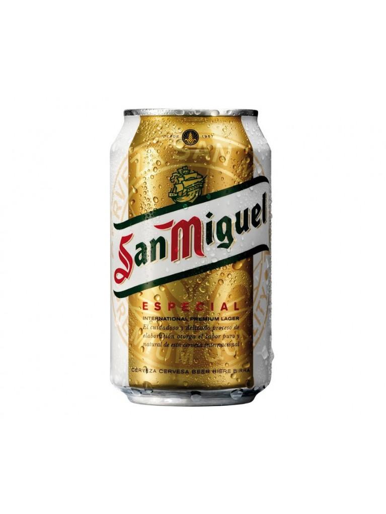 Cerveza San Miguel Lata 33cl Pack 12 Unidades