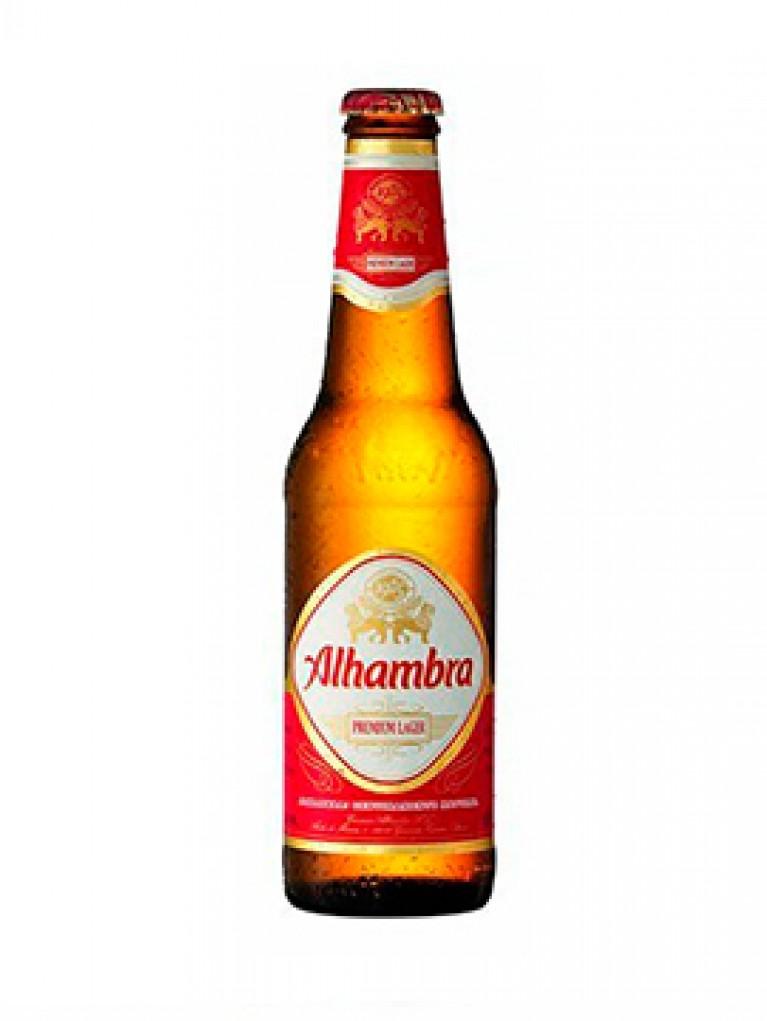 Cerveza Alhambra Sin Alcohol 25cl Pack 6 Unidades