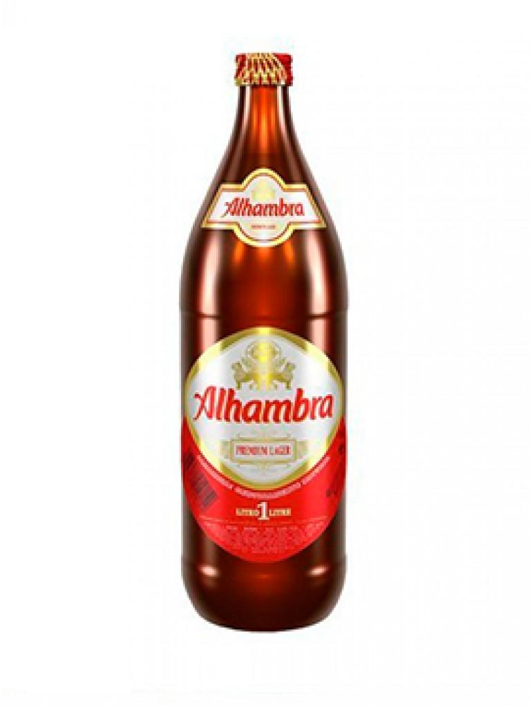 Cerveza Alhambra Sin Alcohol 1L