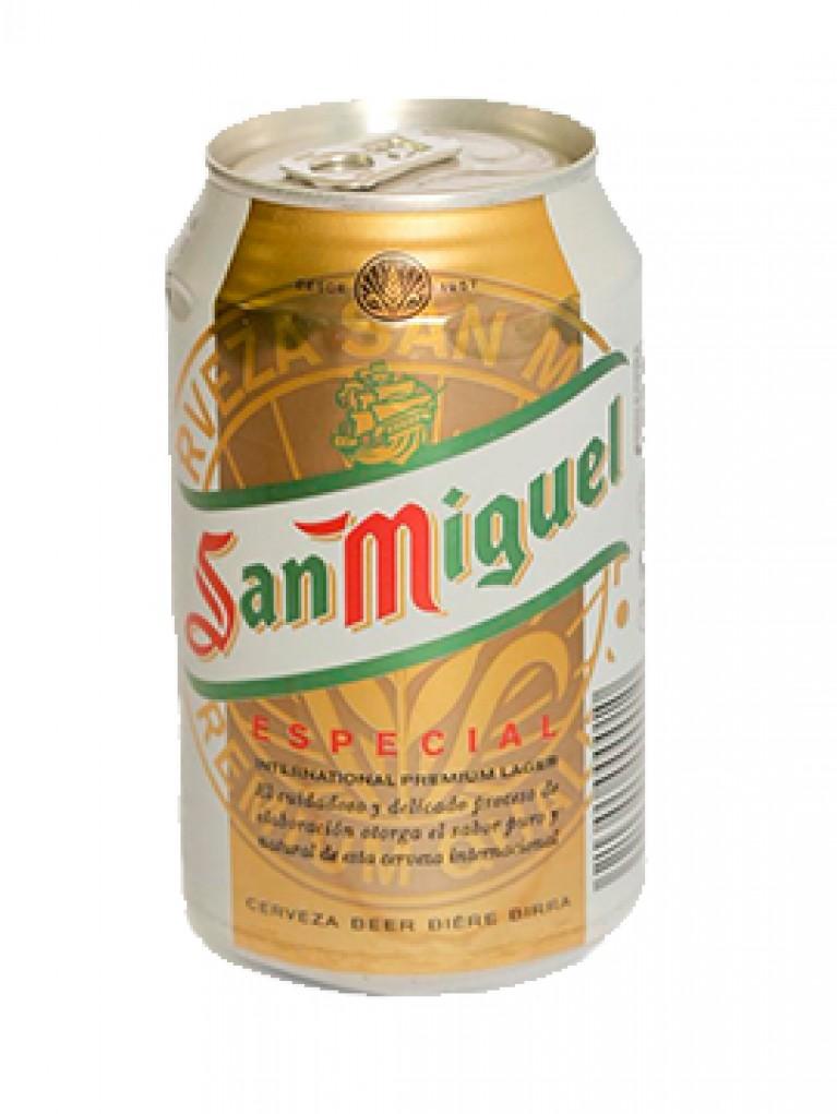 Cerveza San Miguel Lata 33cl