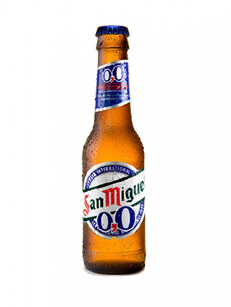Cerveza San Miguel 0,0% 25cl Pack 6 Unidades