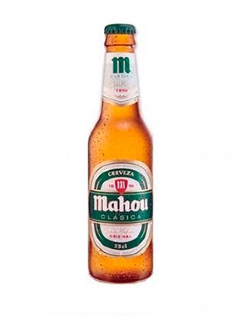 Cerveza Mahou Clasica 25cl Pack 6 Unidades