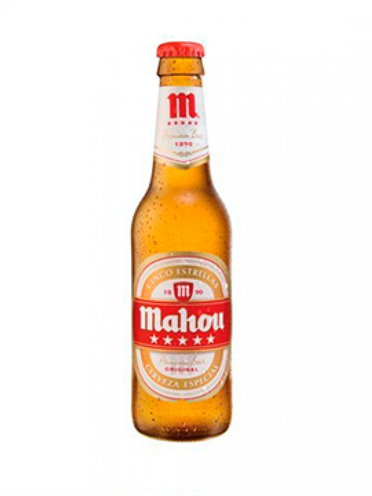 Cerveza Mahou 5 Estrellas 25cl Pack 6 Unidades