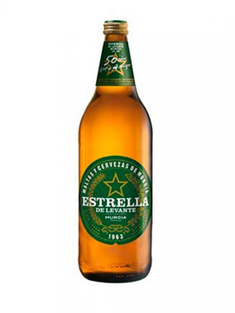 Cerveza Estrella De Levante 1L