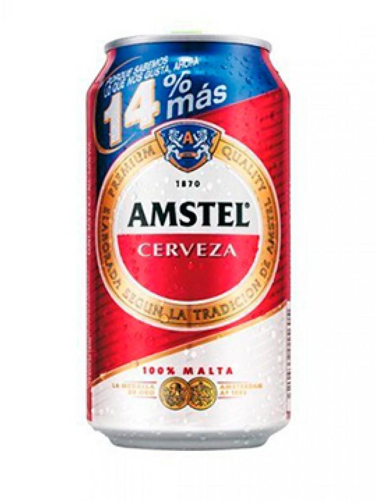Cerveza Amstel Lata Sin Alcohol 37,5cl
