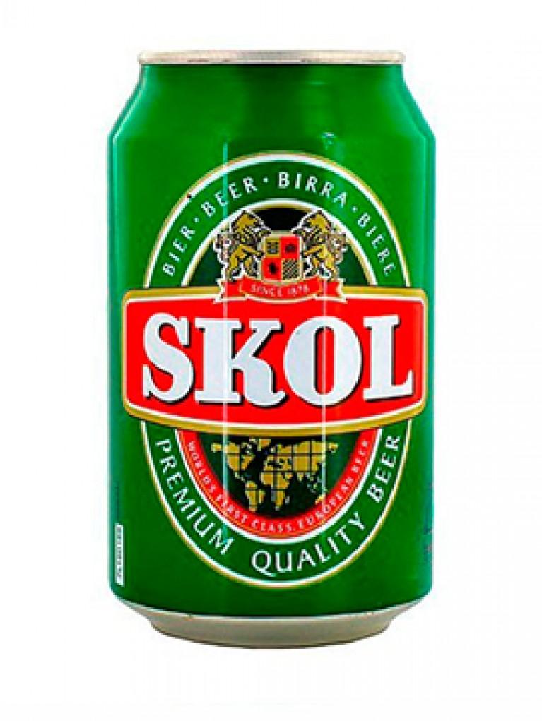 Cerveza Skol Lata 33cl