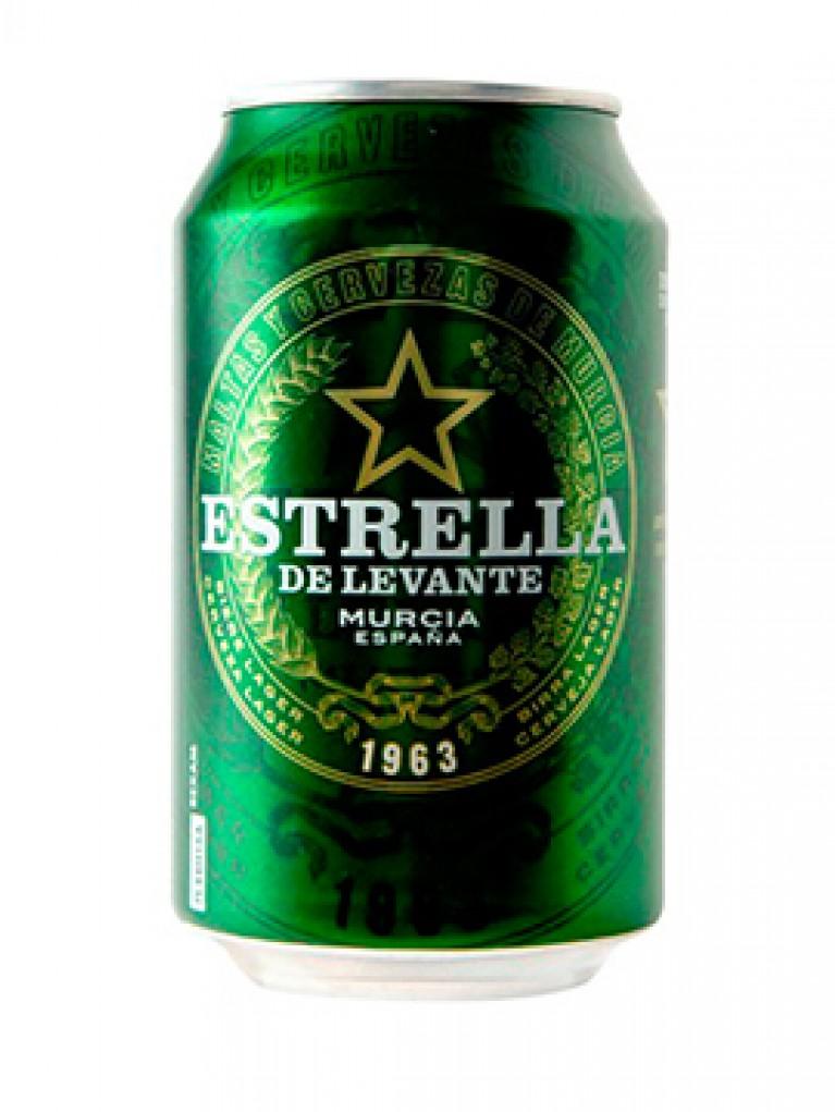 Cerveza Estrella De Levante Lata 33cl