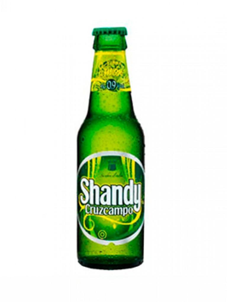 Cerveza Cruzcampo Shandy 25cl Pack 6 Unidades
