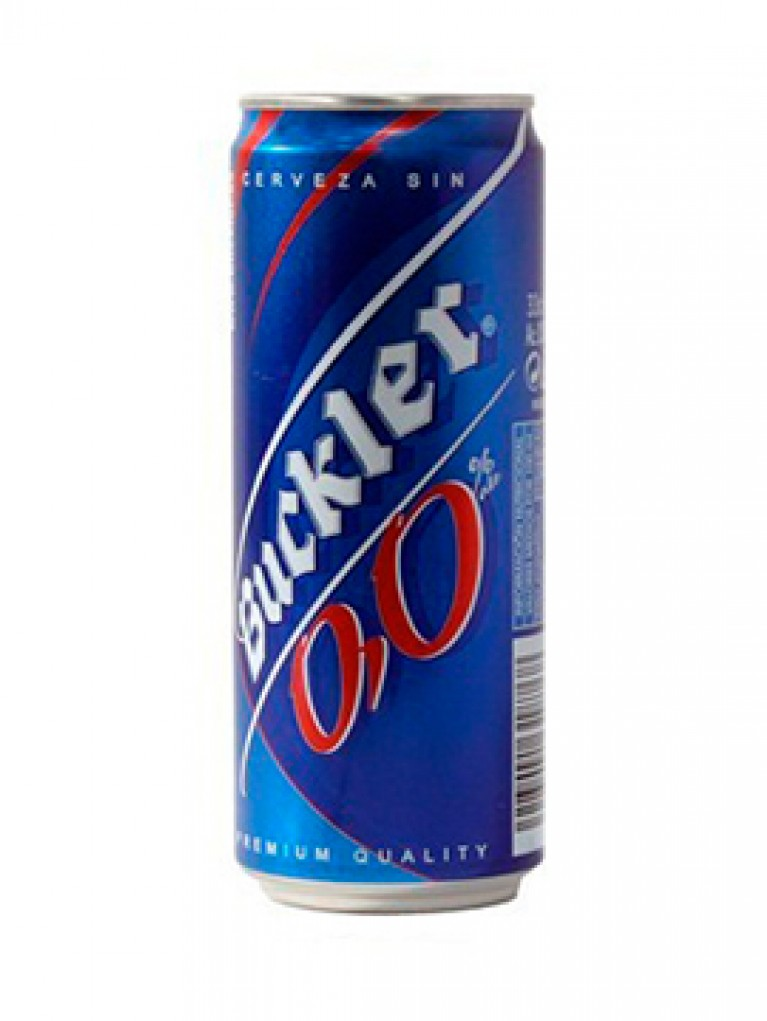 Cerveza Buckler 0,0% Lata 33cl