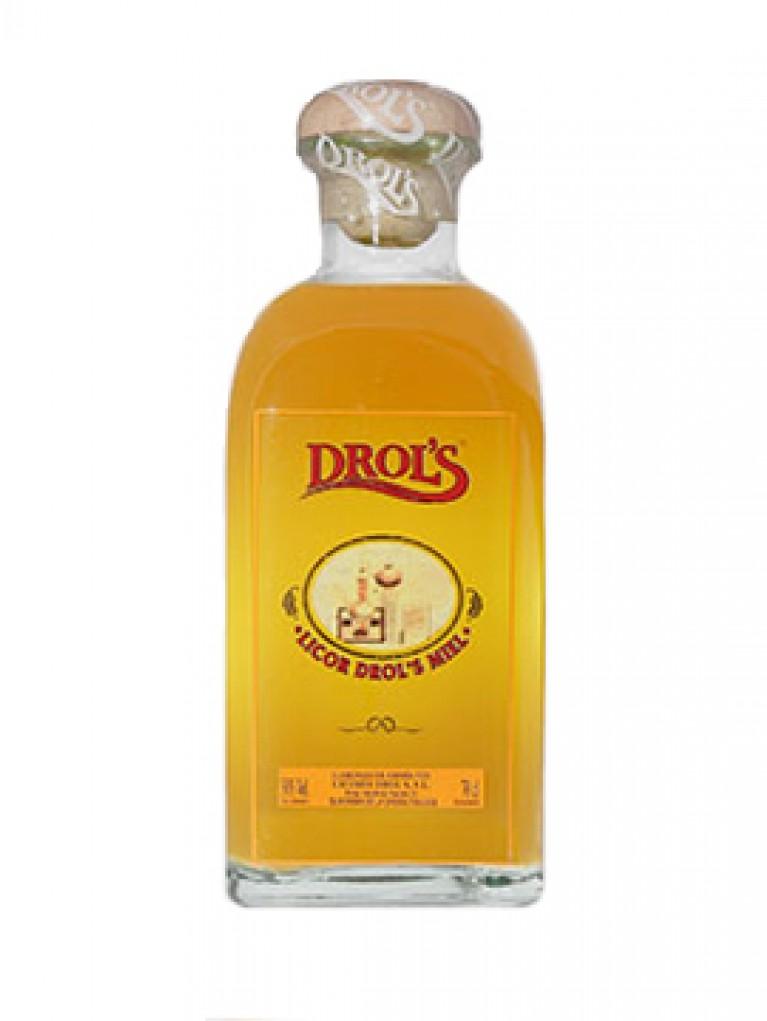 Licor Orujo Miel Drol's Frasca