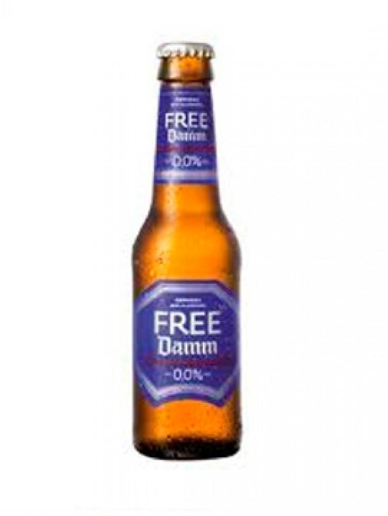 Cerveza Free Damm 0,0% 25cl Pack 6 Unidades
