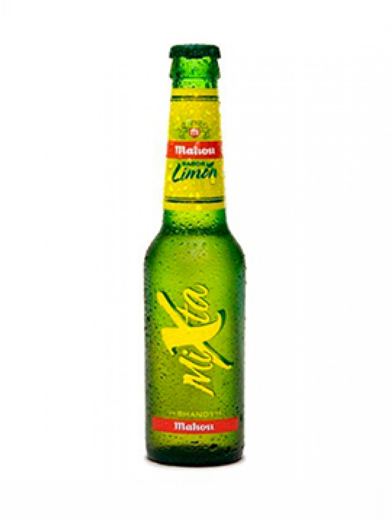Cerveza Mahou Mixta 25cl  Pack 6 Unidades
