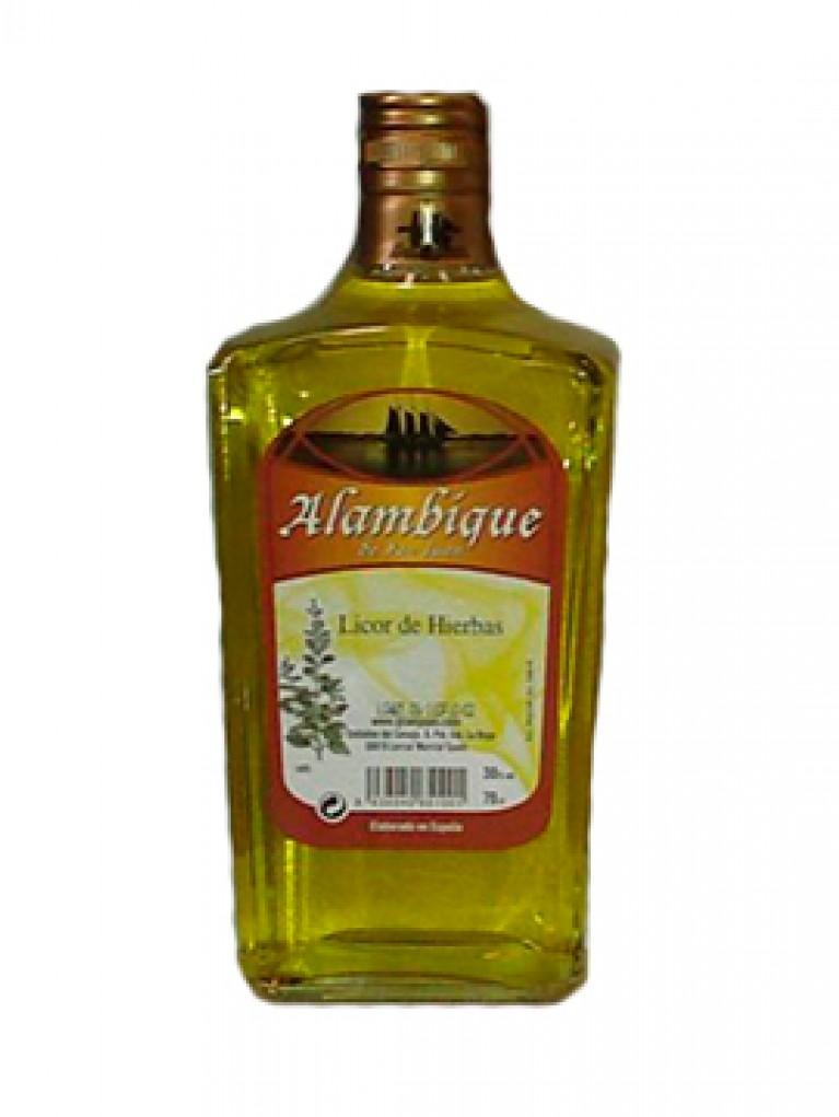 Licor Orujo Hierbas Alambique