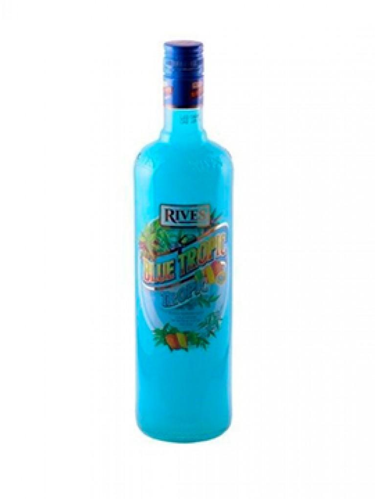 Licor Blue Tropic Rives 1L