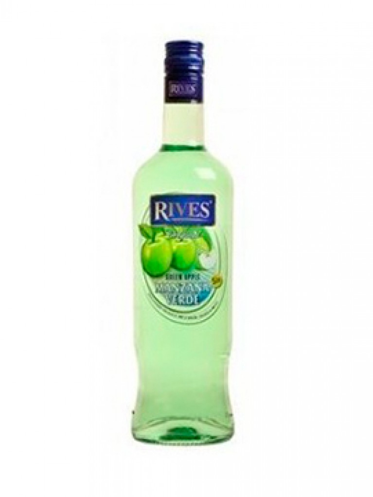 Licor Manzana Rives Sin Alcohol