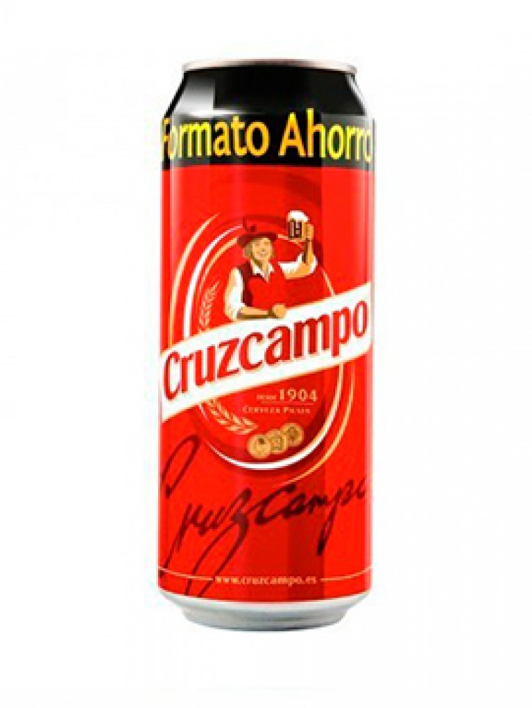 Cerveza Cruzcampo Lata 50cl