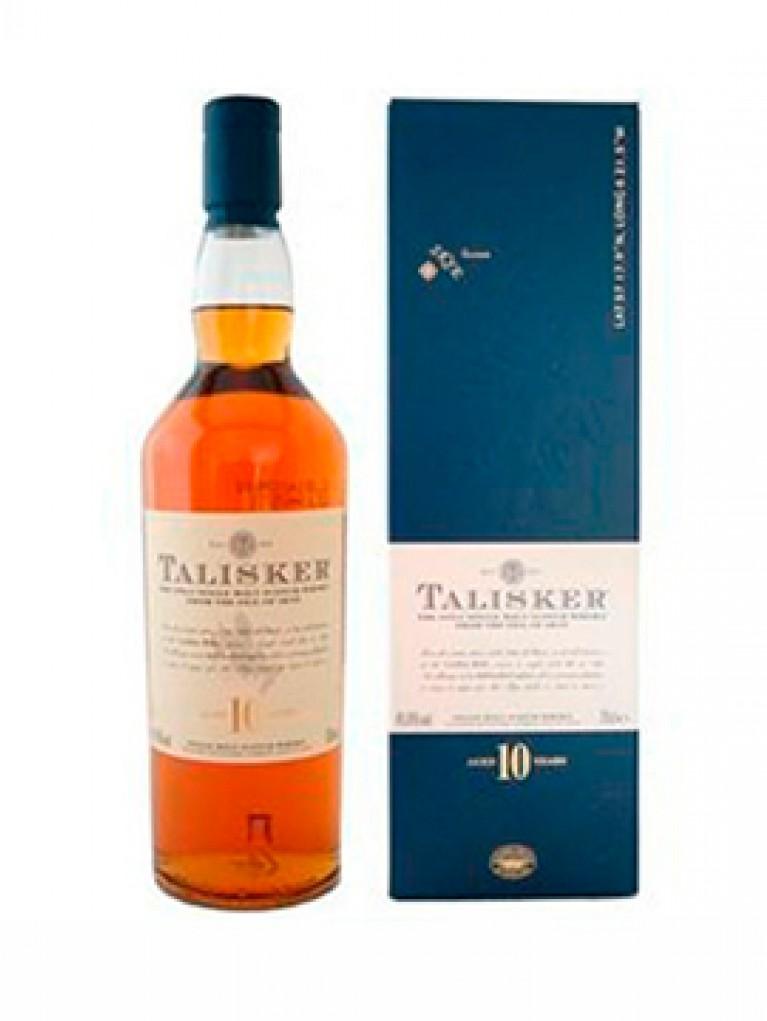 Whisky Talisker 10 años Single Malta