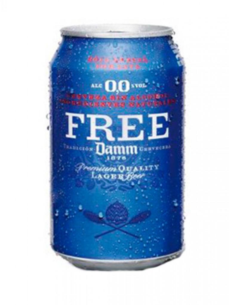 Cerveza Free Damm 0,0% Lata 33cl