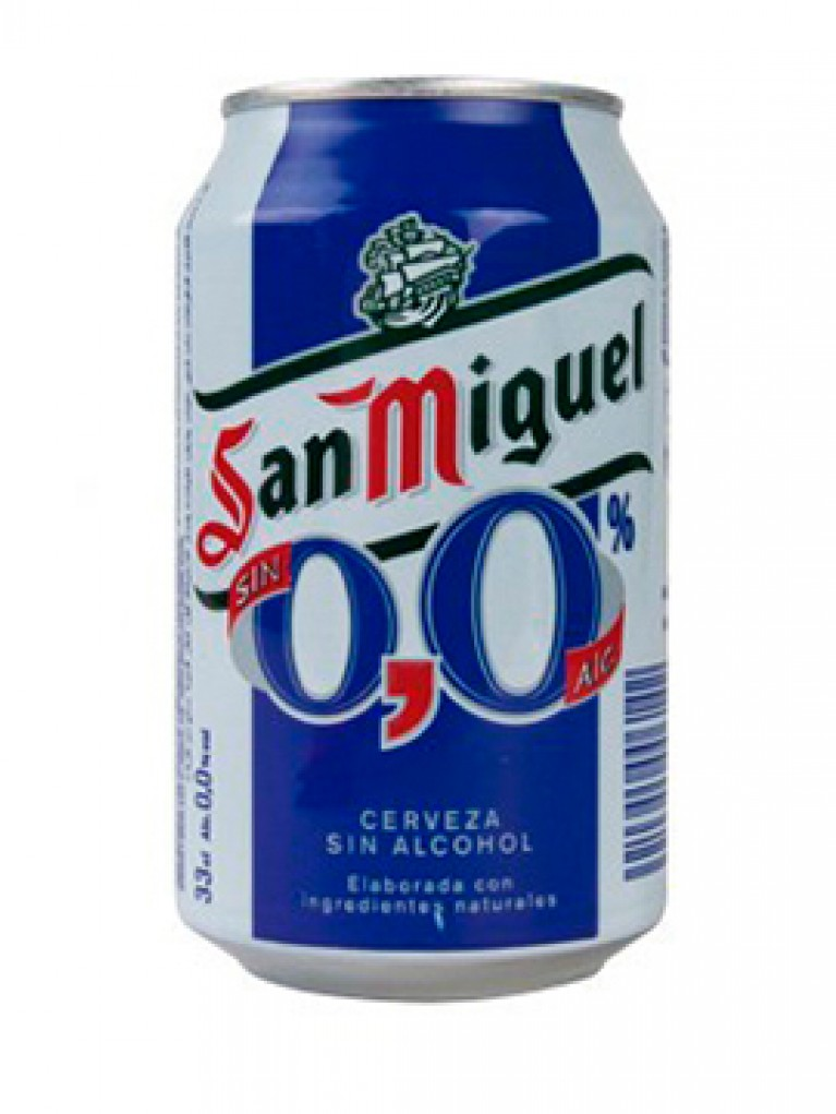 Cerveza San Miguel 0,0% Lata 33cl