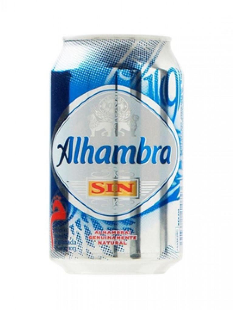 Cerveza Alhambra Lata Sin Alcohol 33cl
