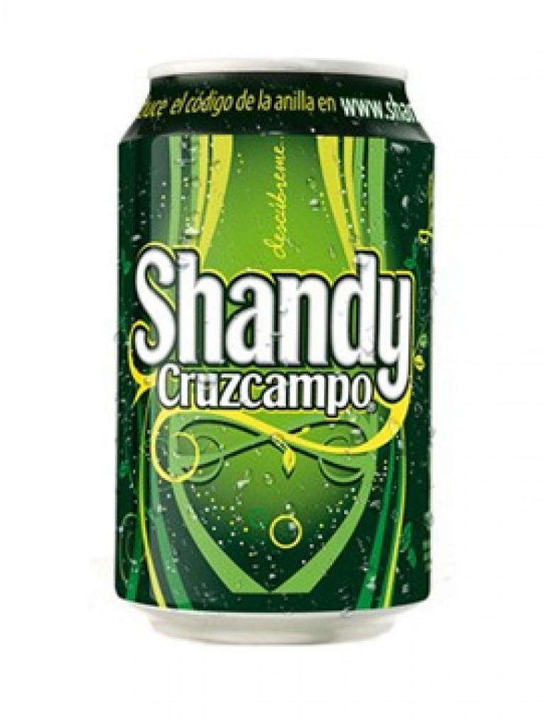 Cerveza Cruzcampo Shandy Lata 33cl