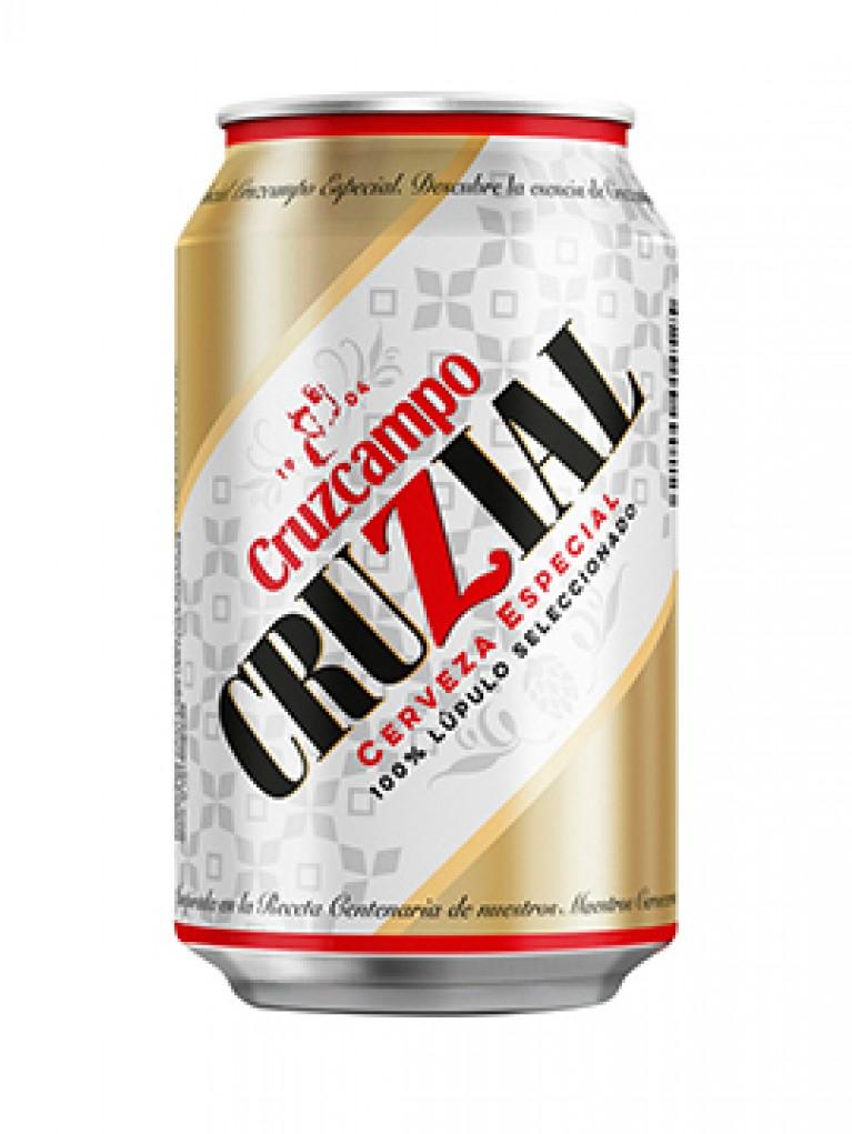 Cerveza Cruzcampo Cruzial Lata 33cl