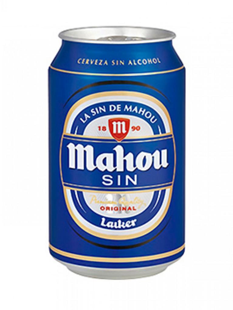 Cerveza Mahou Sin Alcohol Lata 33cl