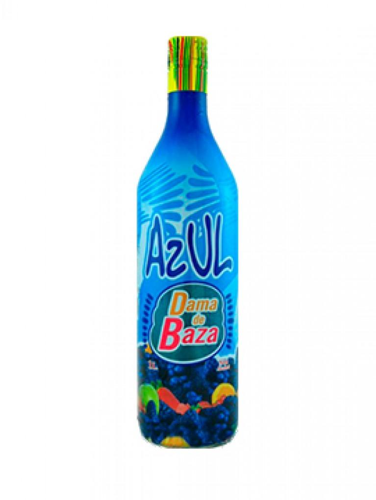 Licor Azul Dama De Baza Sin Alcohol