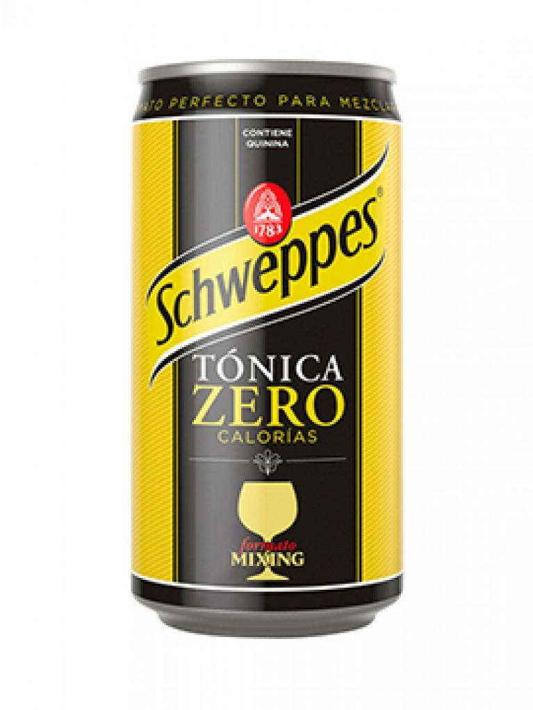 Schweppes Tónica Zero Lata 33cl