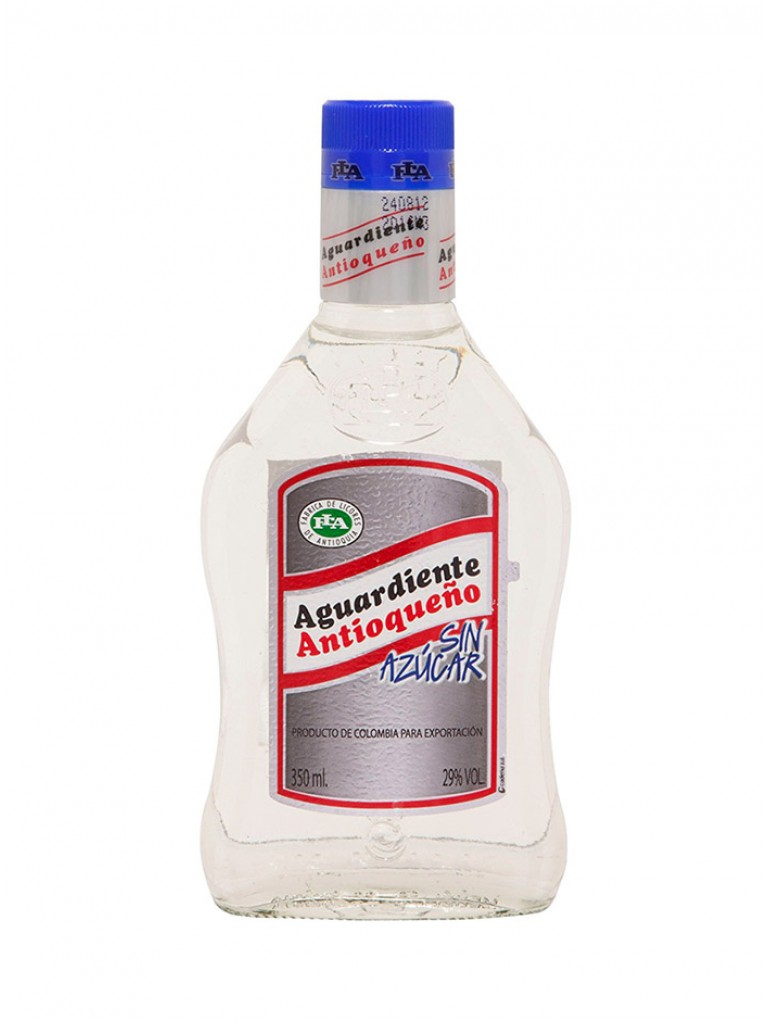 Licor Aguardiente Antioqueño Sin Azucar 0,35L