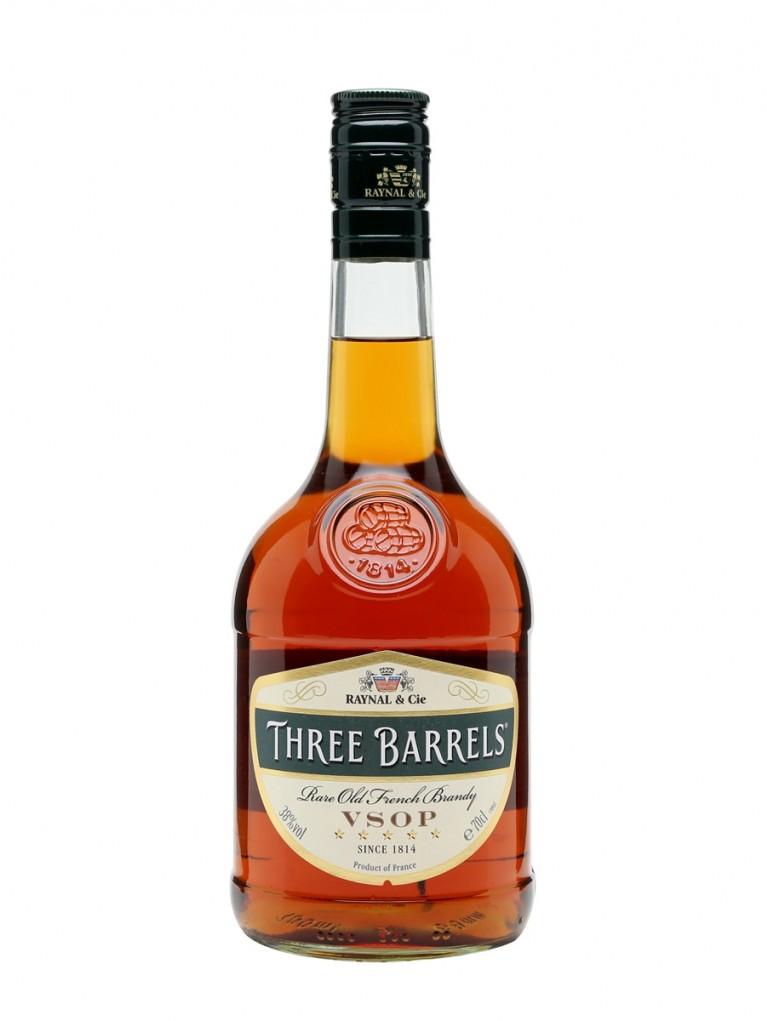 Brandy Three Barrels VSOP
