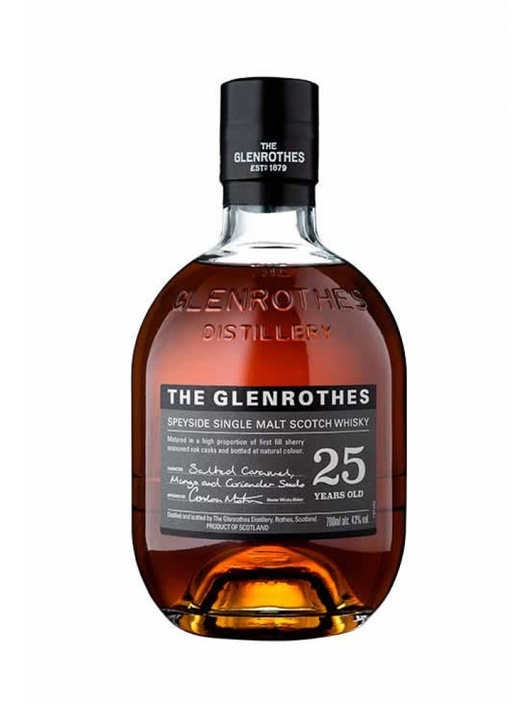 Whisky Glenrothes 25 años