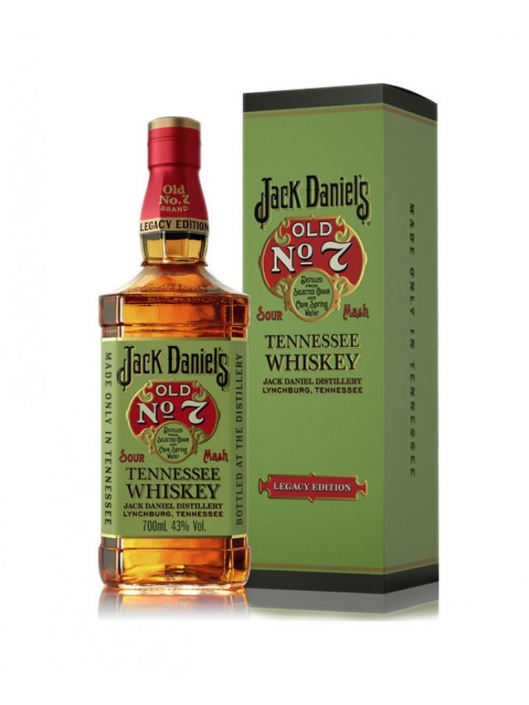 Whisky Jack Daniels Legacy Edition