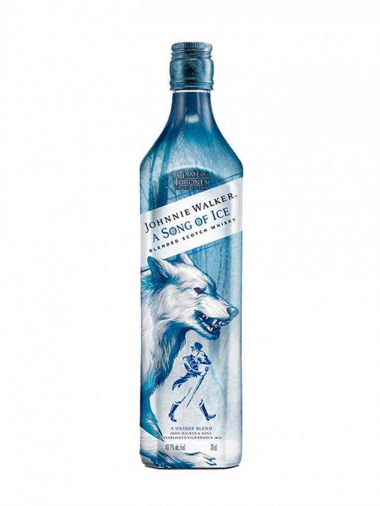 Whisky Johnnie Walker a Song of Ice