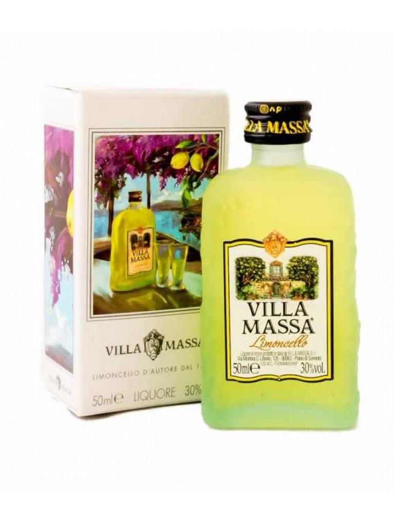Miniatura Licor Limoncello Villa Massa 5cl
