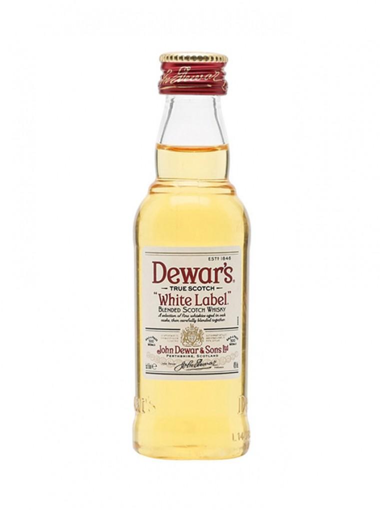 Mini Whisky White Label