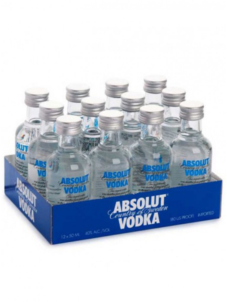 Mini Vodka Absolut