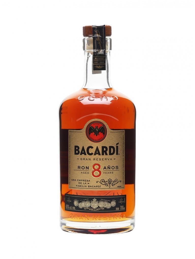 Ron Bacardi 8 Años Reserva