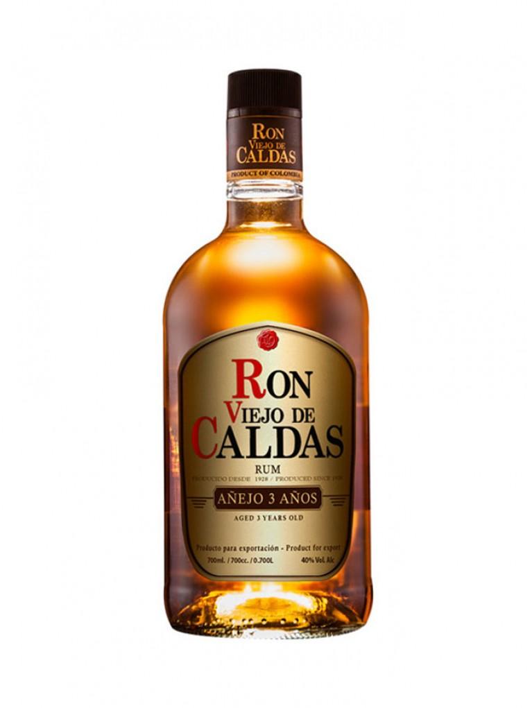 Ron Viejo De Caldas Añejo