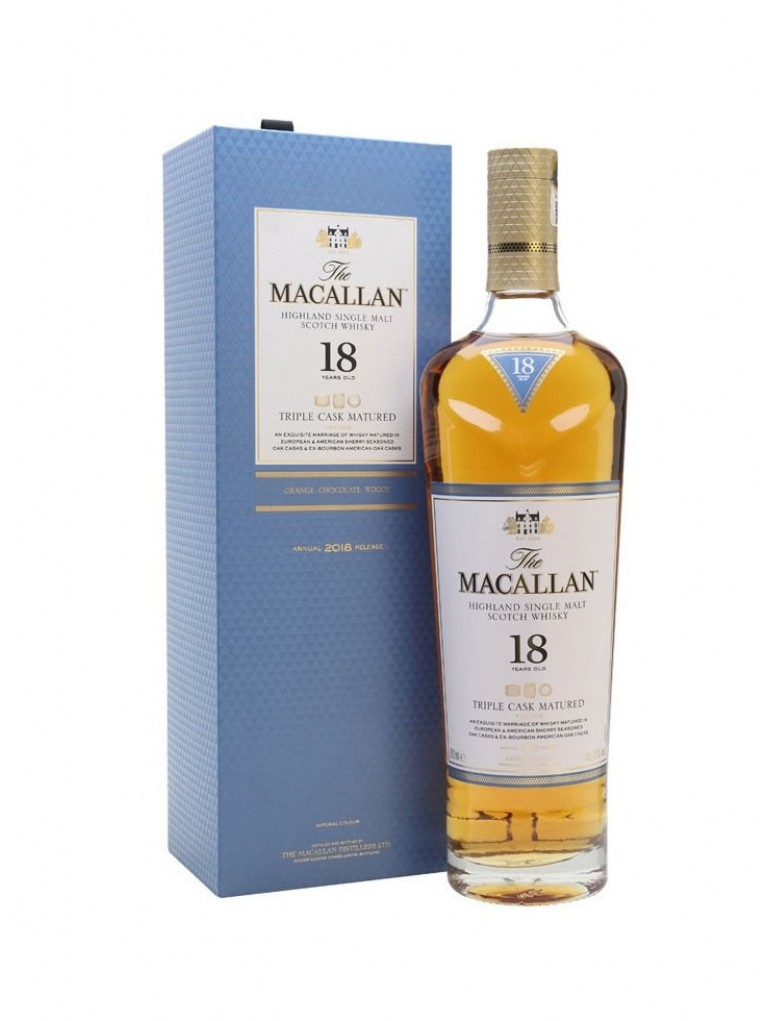 Whisky The Macallan Triple Cask 18 Años
