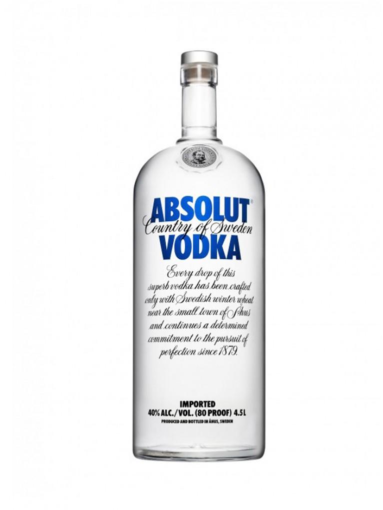 Vodka Absolut 4,5L 40%