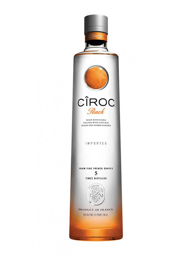 Vodka Ciroc Peach 1L  37,5º