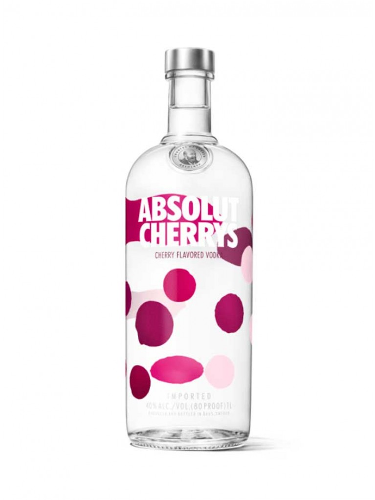 Vodka Absolut Cherrys 1L