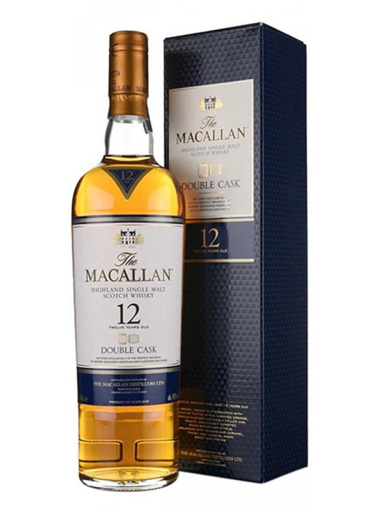 whisky macallan double cask 12 años
