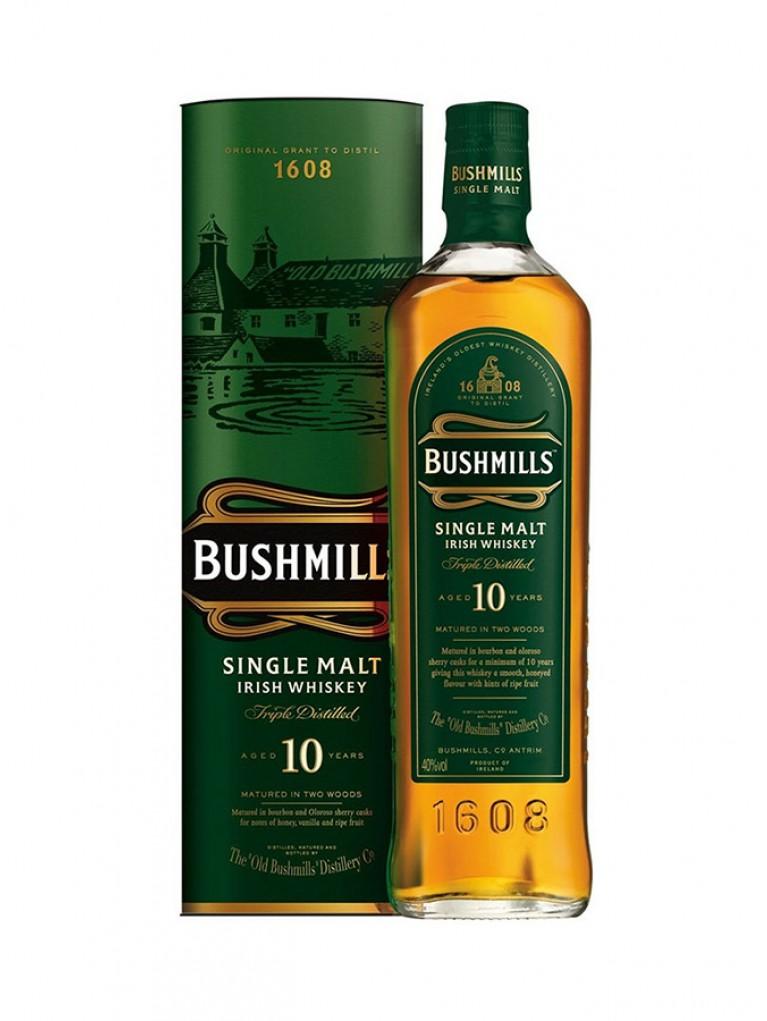 Whisky Bushmills 10 años Malta