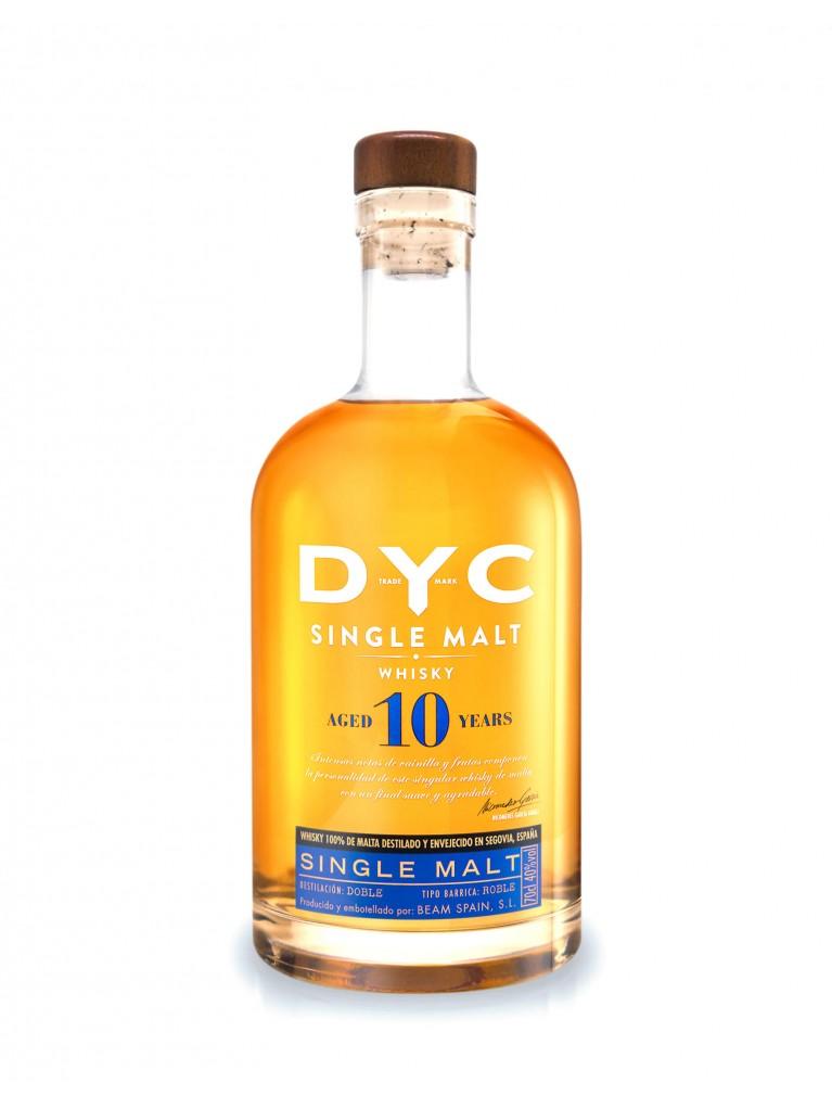 Whisky DYC Single Malt 10 Años