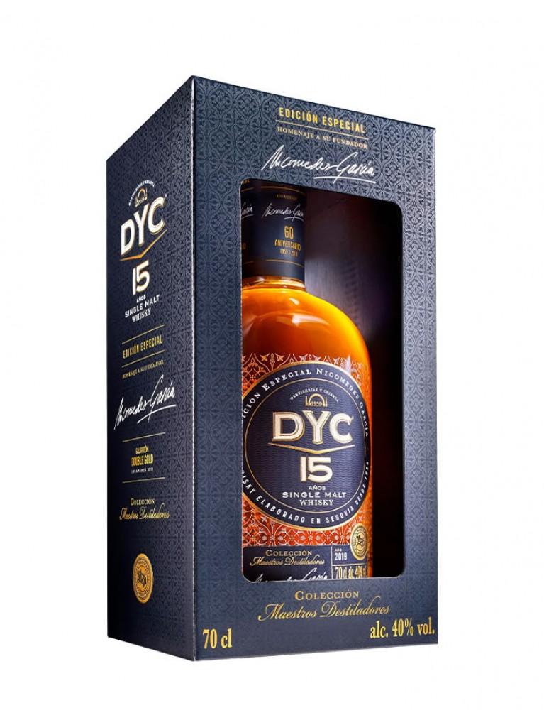 Whisky DYC 15 Años Single Malt