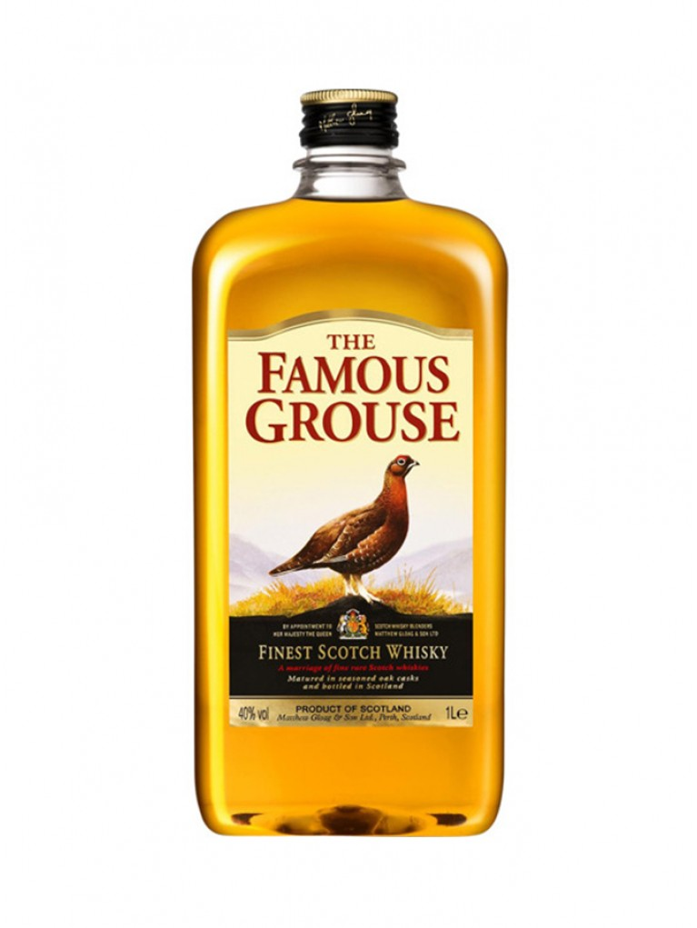 Whisky Famous Grouse 1L PET
